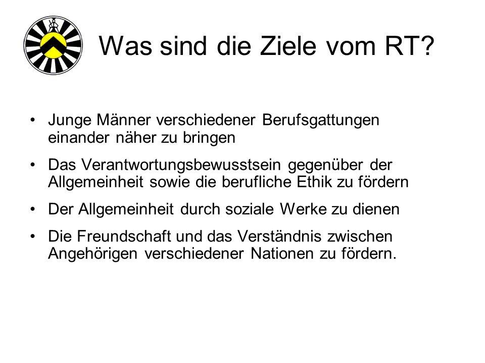 Was sind die Ziele vom RT.