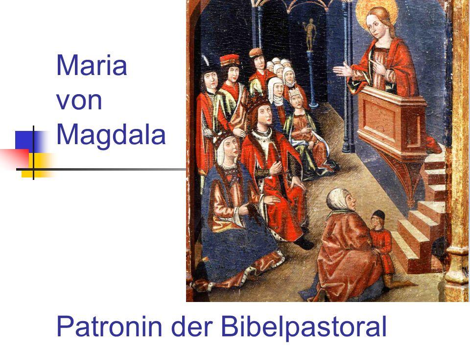 4. Die Vermischung verschiedener Frauenfiguren Maria Magdalena Maria von Bethanien (Joh 12)