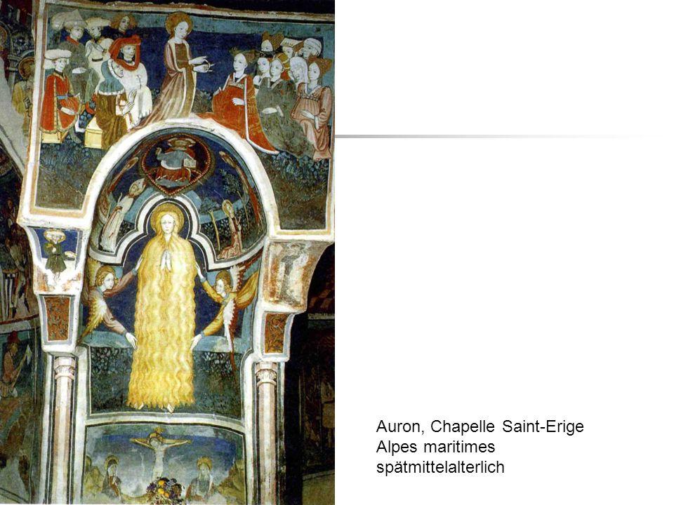 Auron, Chapelle Saint-Erige Alpes maritimes spätmittelalterlich