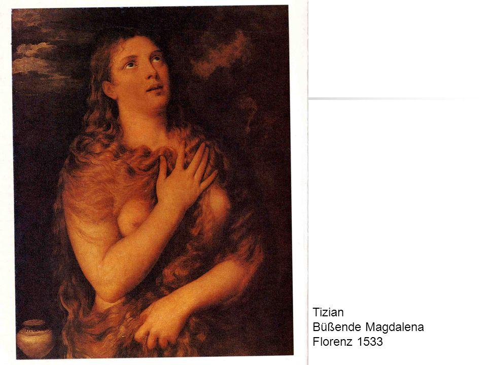 Tizian Büßende Magdalena Florenz 1533