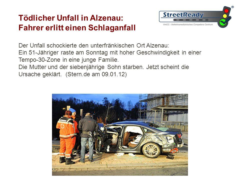 ... und die Rolle der Verkehrsmedizin für die Sicherheit auf den Straßen ?