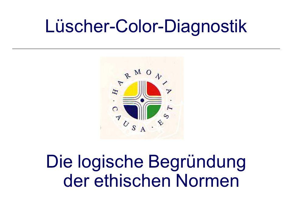Lüscher-Color-Diagnostik Die logische Begründung der ethischen Normen