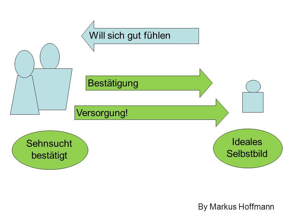 Bestätigung Sehnsucht bestätigt Ideales Selbstbild By Markus Hoffmann Will sich gut fühlen Versorgung!