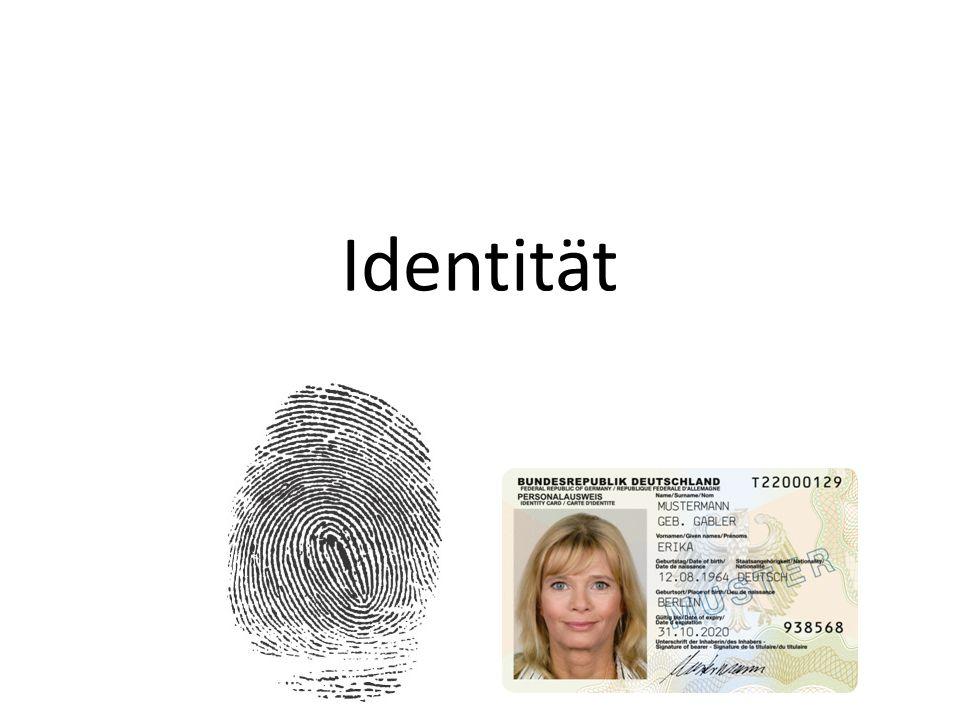 Formen von Identität materielle Komponente: – Identifikation des Individuums mit bestimmten Firmen oder Produkten – symbolische Darstellung der Identität durch Marken oder bestimmte Produkte – Ausdruck von Gruppenzugehörigkeit – Abgrenzung zu anderen Individuen