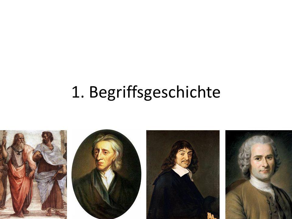 Begriffsgeschichte lat.idem = derselbe ( Identität) lat.