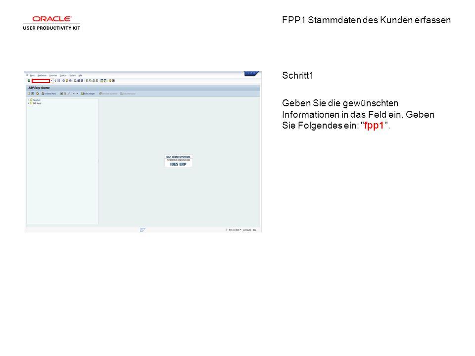 FPP1 Stammdaten des Kunden erfassen Schritt22 Klicken Sie auf die Registerkarte Identifikation.