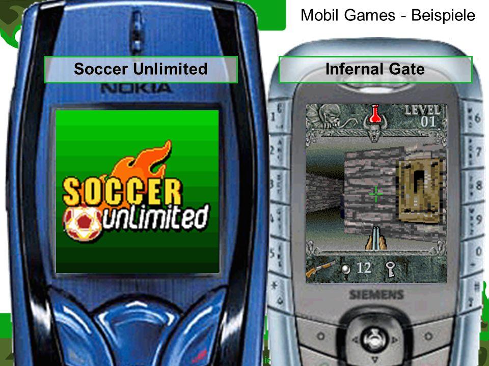 >> 24.05.04 >> >> Frank Kemnitz > Daniel Nauck >> >> IEB > EB 2 > mGaming >> 27 >> 31 Mobil Games - Beispiele Beispiele Soccer Unlimited Infernal Gate