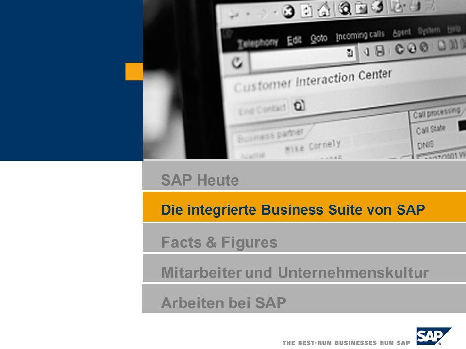 SAP AG 2005, Software and People, Steffen Laick / 9 Das SAP-Produktportfolio * Für Bestandskunden SAP NetWeaver SAP for SAP xApps SAP xApp Resource and Program Mgmt SAP xApp Product Definition SAP xApp Mergers and Acquisitions...