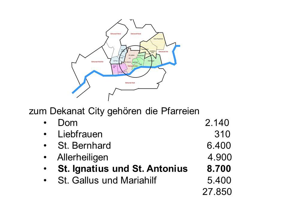 Westend Süd und Westend Nord Universität mit schönstem Campus Deutschlands Teile der Messe mit Messeturm; Senckenberg-Museum, Alte Oper, Synagoge, verschiedene Kirchen viele Parks; Kinderspielplätze, Bäume in Straßen und Innenhöfen