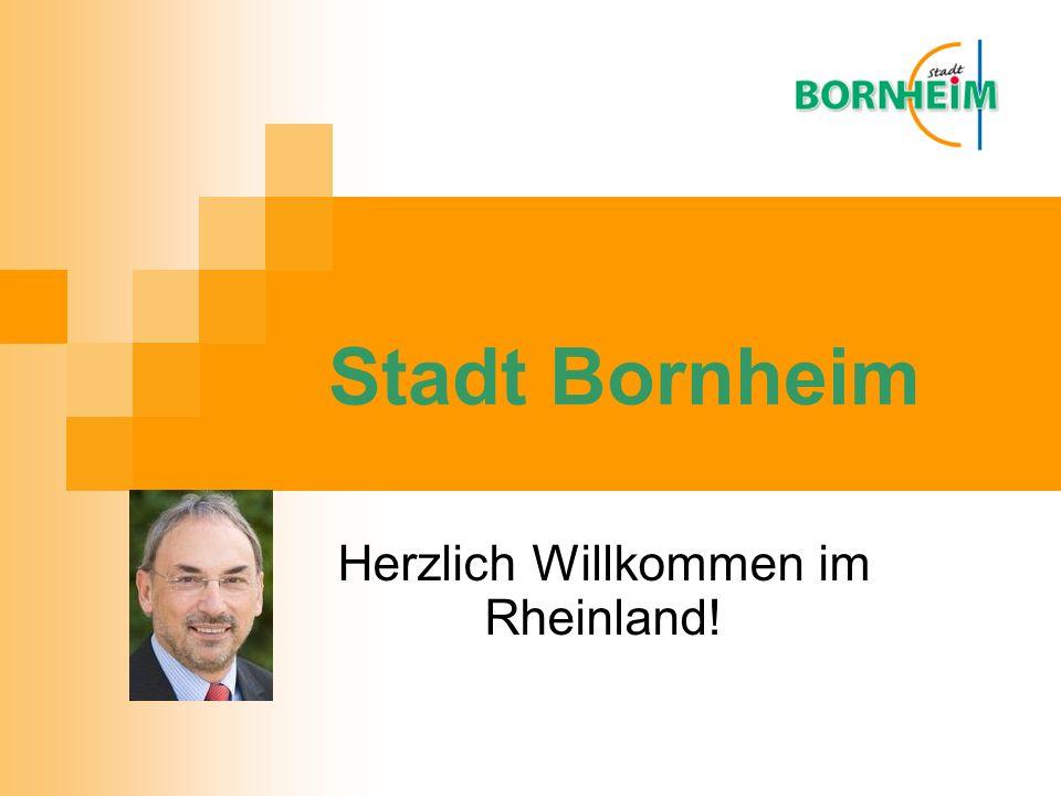 Herzlich Willkommen im Rheinland! Stadt Bornheim