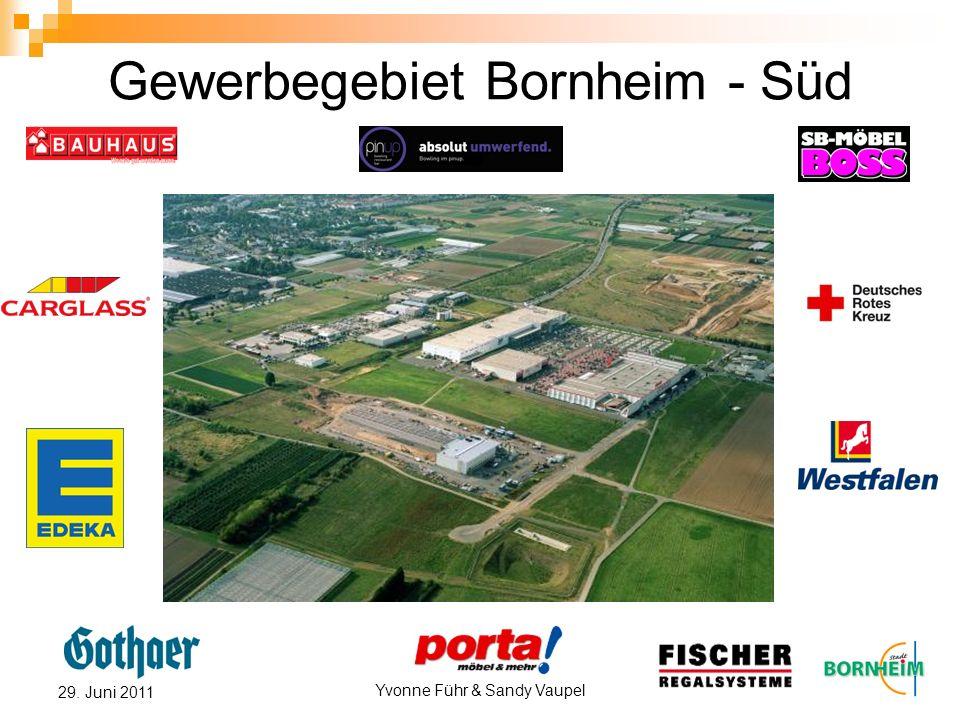 Yvonne Führ & Sandy Vaupel 29. Juni 2011 Gewerbegebiet Bornheim - Süd