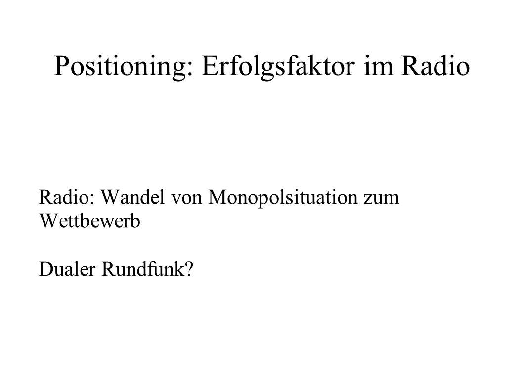 Jüngstes Beispiel Das Nichtformat als Format – 88.6 Bernd FM Welche Sinus-Milieus werden damit wie angesprochen.