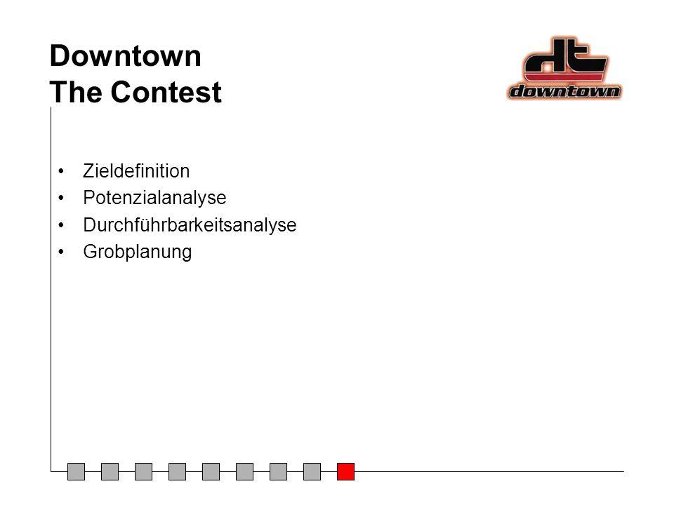 Downtown The Contest Zieldefinition Potenzialanalyse Durchführbarkeitsanalyse Grobplanung