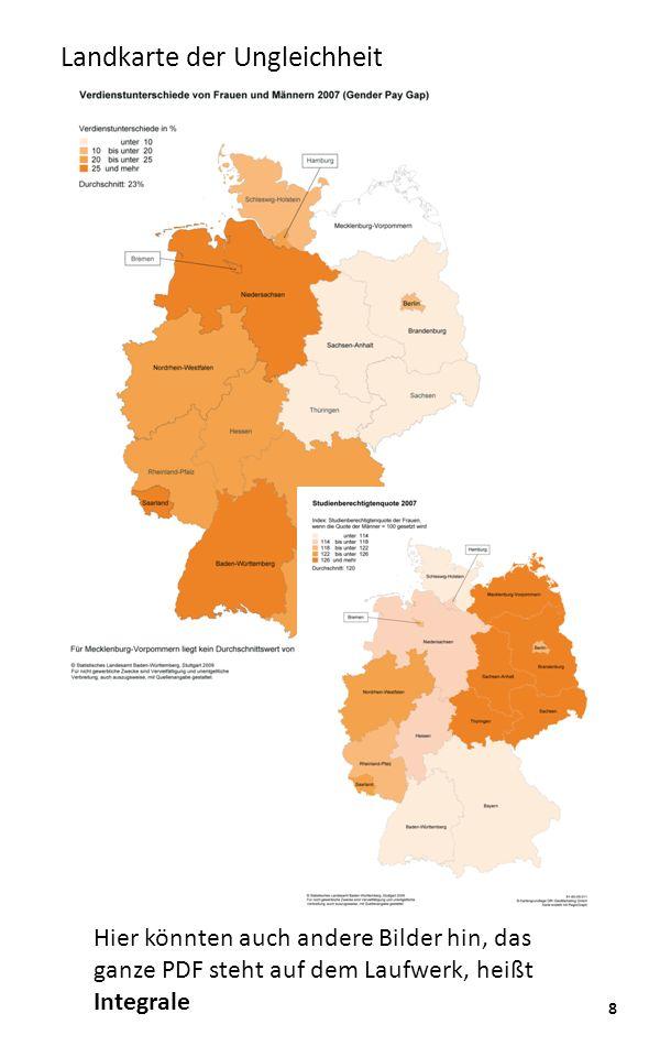 8 Landkarte der Ungleichheit Hier könnten auch andere Bilder hin, das ganze PDF steht auf dem Laufwerk, heißt Integrale