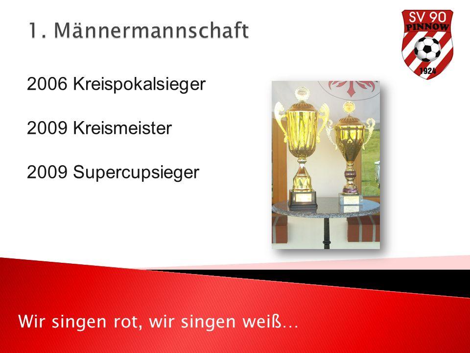 2006 Kreispokalsieger 2009 Kreismeister 2009 Supercupsieger