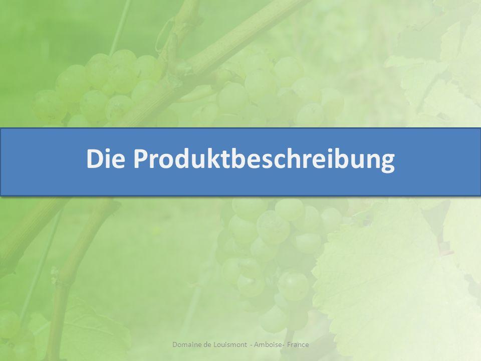 I/ Produkteigenschaften Unserer Schaumwein… ist synonym von Qualität.