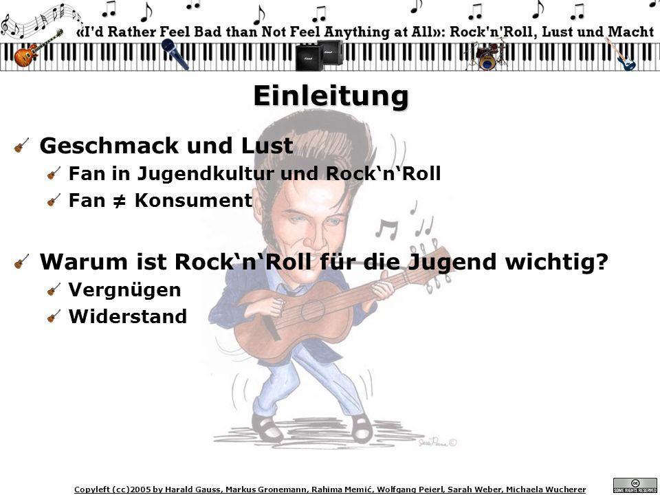 Copyleft (cc)2005 by Harald Gauss, Markus Gronemann, Rahima Memić, Wolfgang Peierl, Sarah Weber, Michaela Wucherer Was ist ein (RocknRoll) Apparat.
