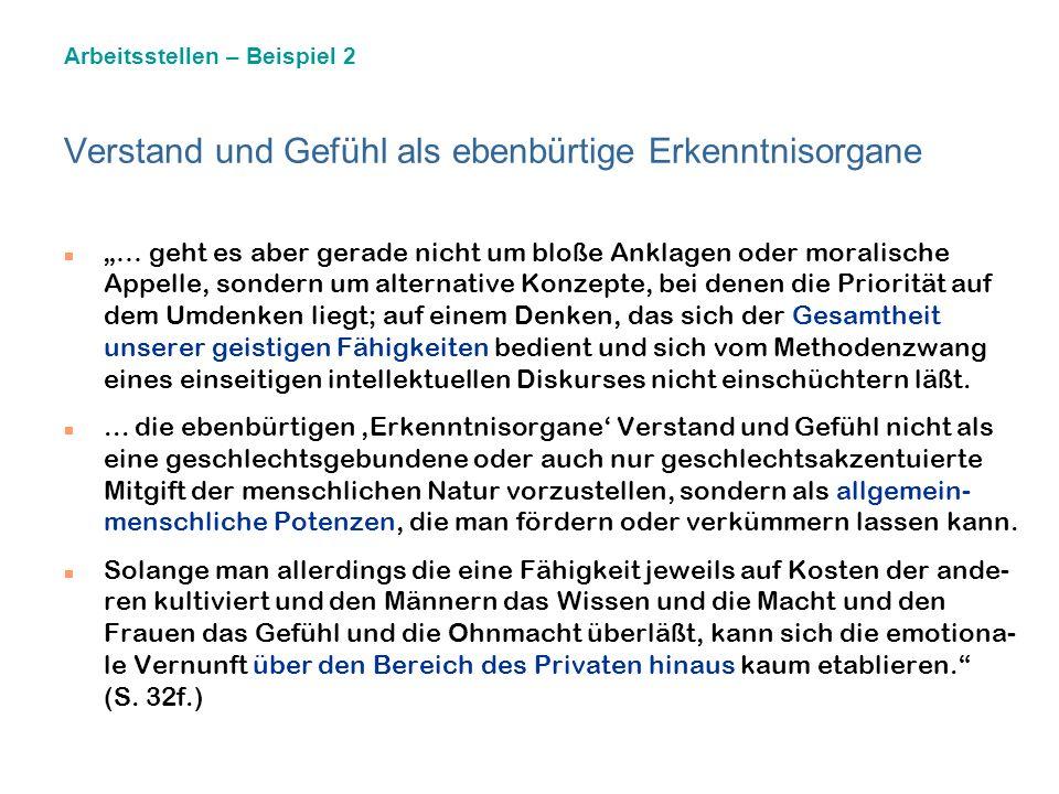 Die Urteilskraft der Gefühle (nach Carola Meier-Seethaler) Gefühl und Urteilskraft. Ein Plädoyer für die emotionale Vernunft. München: Beck 2. Aufl.19