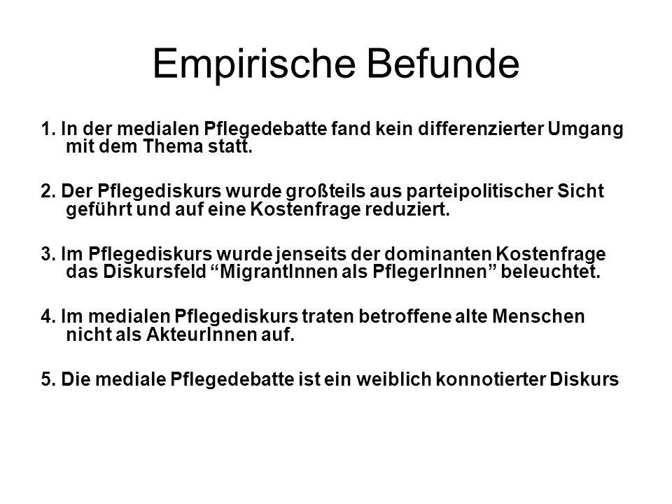 Empirische Befunde 1.