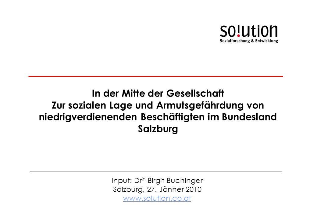 Input: Dr in Birgit Buchinger Salzburg, 27.