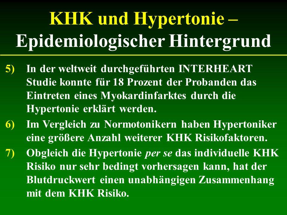 Hypertonie in Österreich Prävalenz und Behandlung Hypertoniker in Österreich Hypertoniker, denen ihre Erkrankung bekannt ist regelmäßig behandelte Hypertoniker suffizient behandelte Hypertoniker 1,5 Millionen 750.000 500.000 200.000