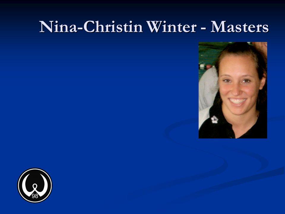 Nina-Christin Winter - Masters