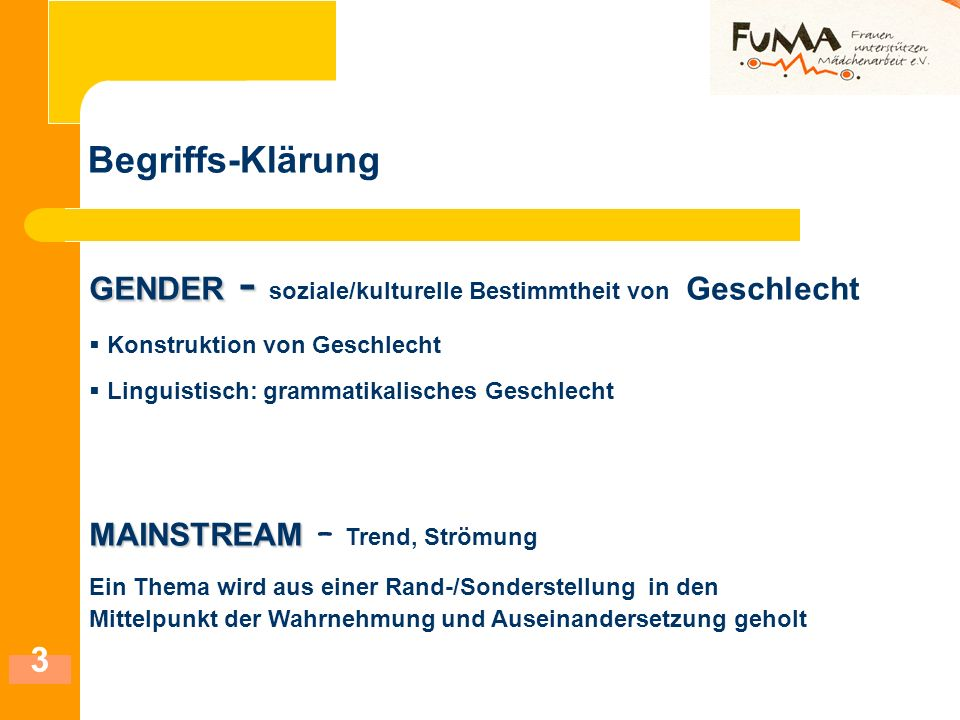 14 Das Projektteam FUMA Fachstelle Mädchenarbeit NRW (Projektträger ) Cäcilia Debbing, Diana Emberger, Marita Ingenfeld, Kooperationspartner: Fachstelle Jungenarbeit NRW: Dr.
