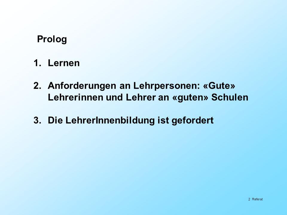 Welche Studierenden sind geeignet.Studienwahlmotive (Schweizer Untersuchungen) Denzler, S.