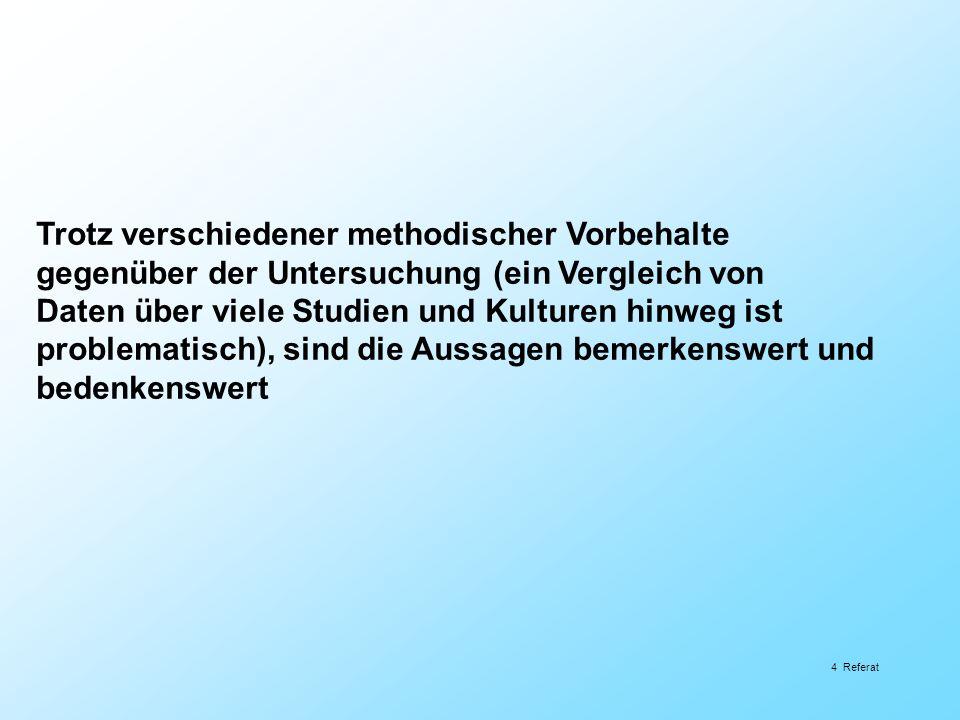 «Primat personaler Einflussgrössen vor strukturellen Einflussgrössen» Ulrich Steffens & Dieter Höfer; Schulverwaltung.