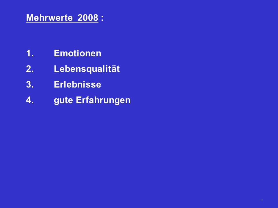 30 Emotionen - Rituale - Traditionen