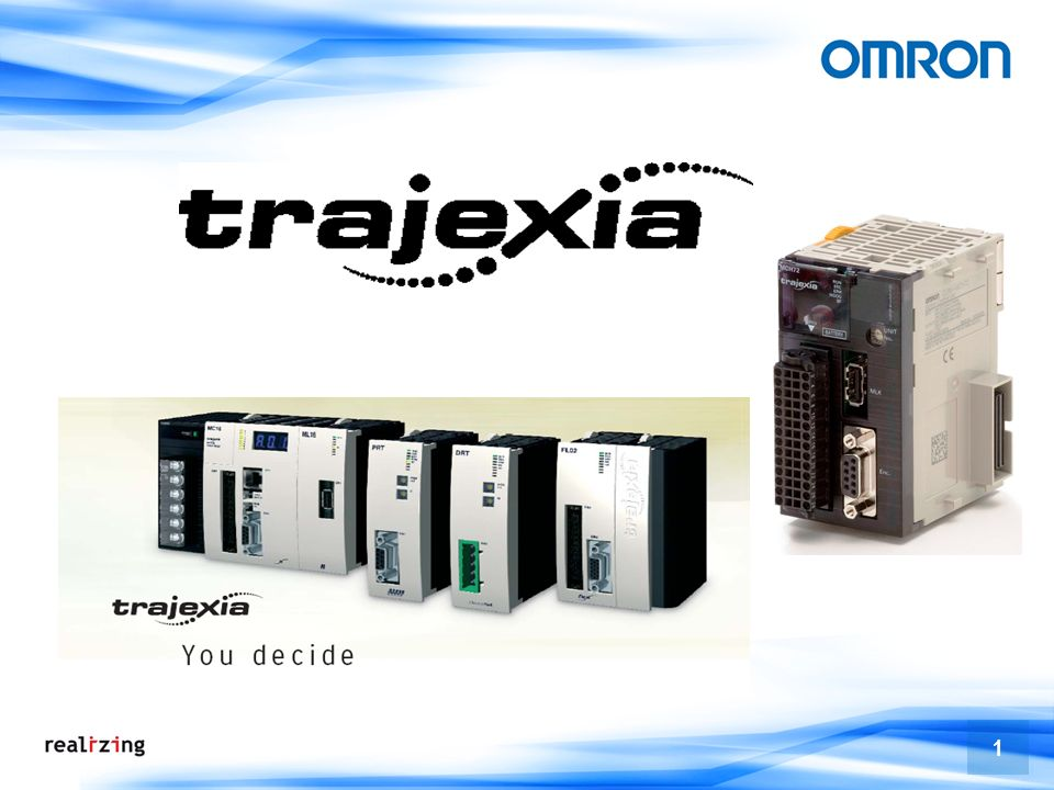 2 Produktlinie Axes Von 1 bis 16 Achsen Von 1 bis 30 Achsen MC16 1 bis 4 Achsen MC04 Trajexia everywhere MC64 Machinen steuerung Von 1 bis 64 Achsen IEC Konform Trajexia-SPS FY09 NEW RELEASE Released