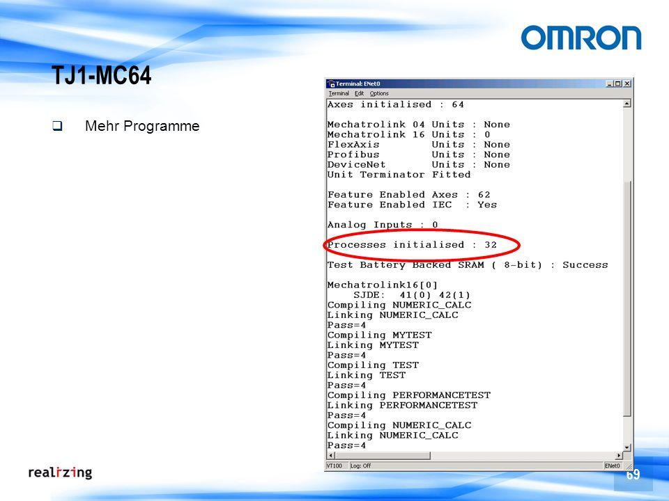 69 TJ1-MC64 Mehr Programme