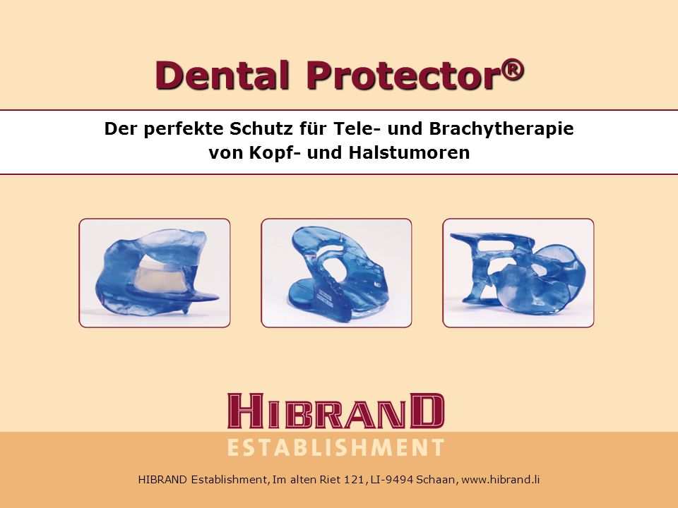 HIBRAND Establishment, Im alten Riet 121, LI-9494 Schaan, Tel.