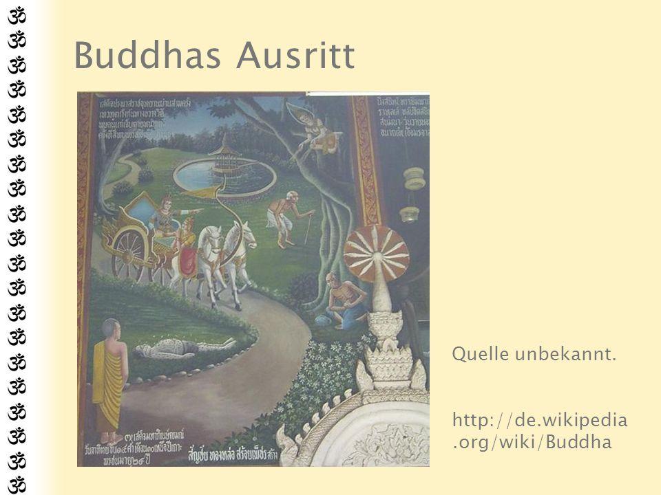 Ehejahre Siddharta bat seinen Vater um Erlaubnis, sich den Waldmönchen (Sramanas) anzuschließen.