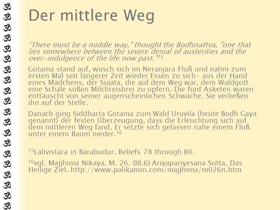 Erleuchtung Gotama übte die Versenkung und erreichte bald tiefstes Samadhi.