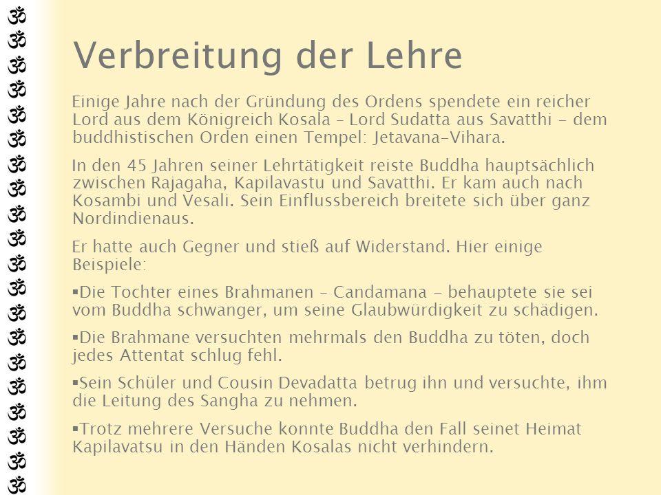 Buddhas Parinirvana Der Buddha Shakyamuni verließ unsere Welt in einer Vollmondnacht in Februar (ca.