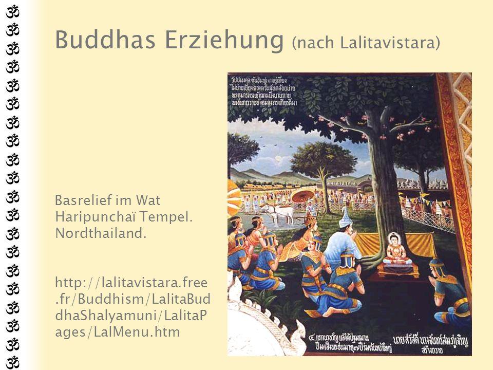 Erster Ausflug Trotz dieser privilegierten Kindheit war Siddharta oft nachdenklich.