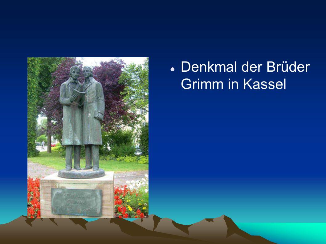 Denkmal der Brüder Grimm in Kassel