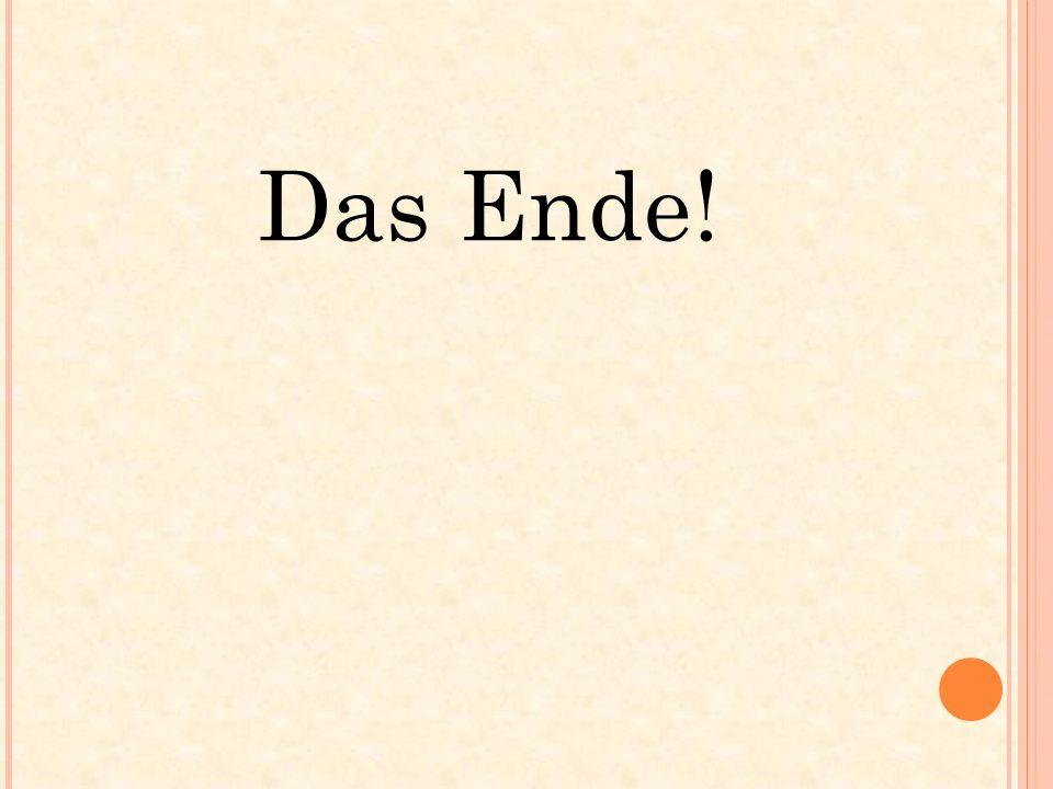 Das Ende!