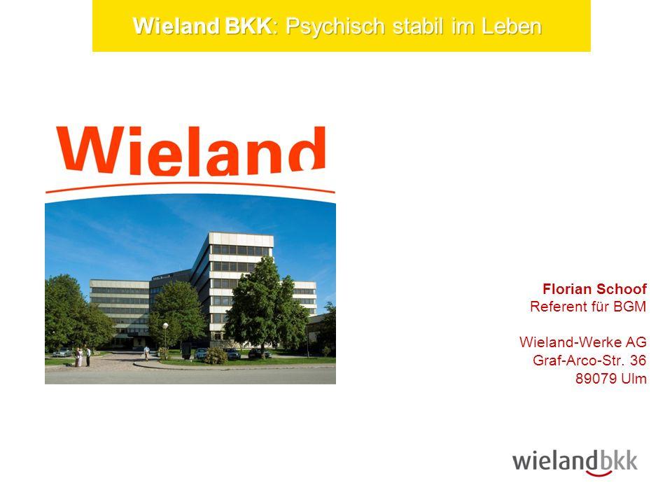 20.04.2014Seite 3 Wieland Florian Schoof