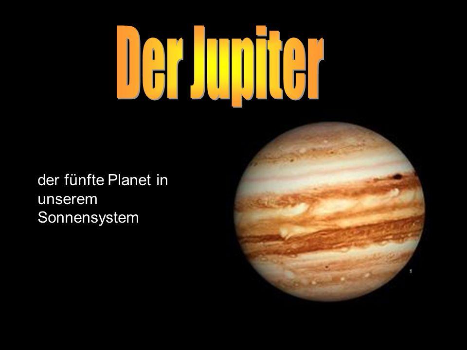 Maria Kornberger2 Jupiter ist der größte Planet unseres Sonnensystems Jupiter ist der vierthellste Planet unseres Sonnensystem Jupiter ist der massereichste Planet in unserem Sonnensystem Jupiter hat einen Durchmesser von 143.000 Kilometer Jupiter ist in unserem Sonnensystem der Planet, der sich am schnellsten um seine Achse dreht Jupiter hat ein sehr ausgeprägtes Magnetfeld Jupiter besitzt 63 Monde Jupiter hat ein sehr schwaches Ringsystem 2 Eigenschaften