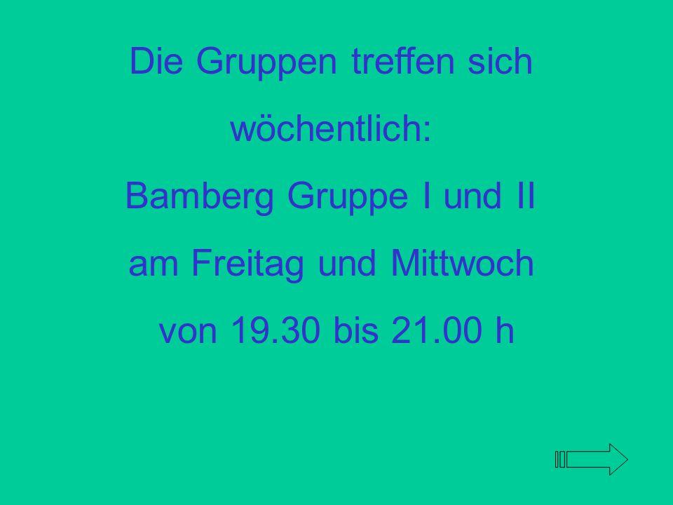 Es gibt viele Wege aus der Abhängigkeit. Einen davon bietet der Kreuzbund Bamberg. Hilfe ist möglich