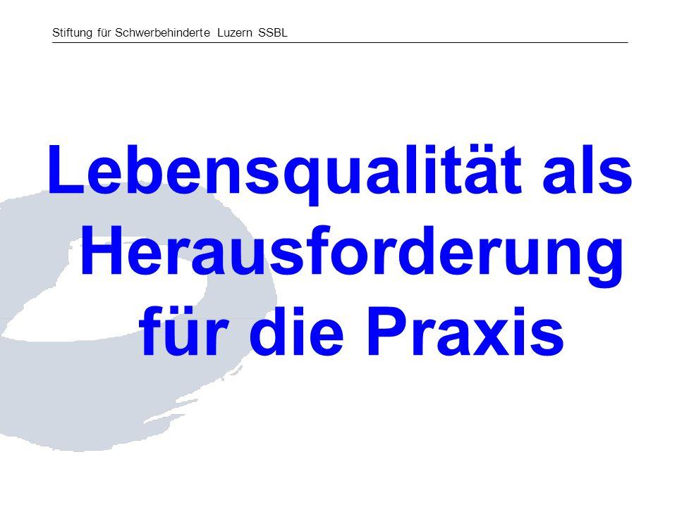 Stiftung für Schwerbehinderte Luzern SSBL