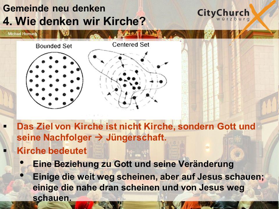 Gemeinde neu denken 4. Wie denken wir Kirche.