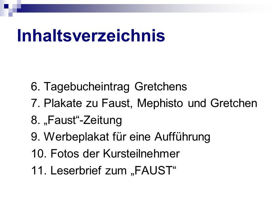 Ich heiße Heinrich Faust und bin 50 Jahre alt.