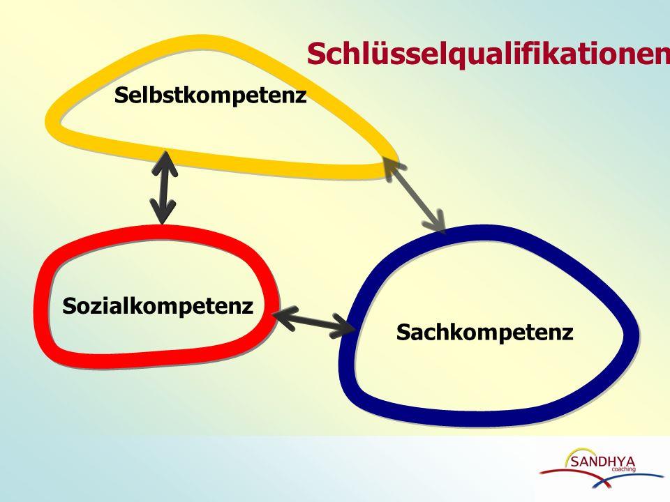 Selbstkompetenz Sachkompetenz Sozialkompetenz Schlüsselqualifikationen