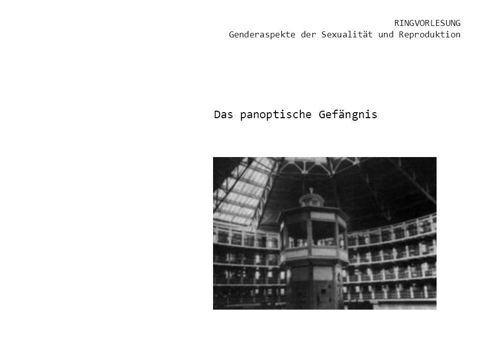 RINGVORLESUNG Genderaspekte der Sexualität und Reproduktion Das panoptische Gefängnis