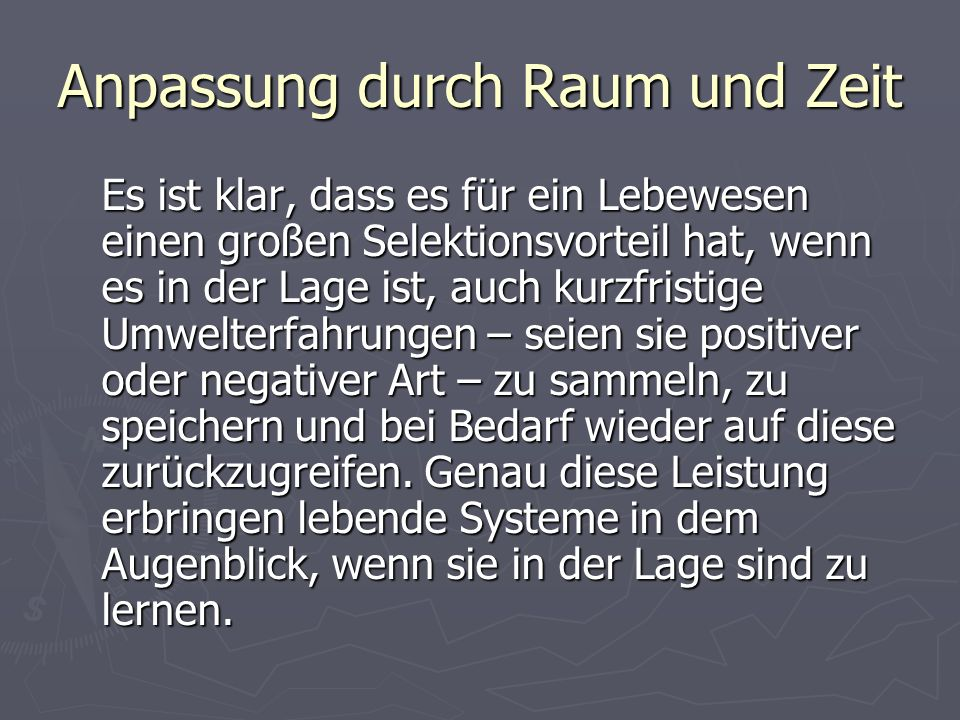 Literaturhinweis TEML, A.K.: Evolutionäre Pädagogik.