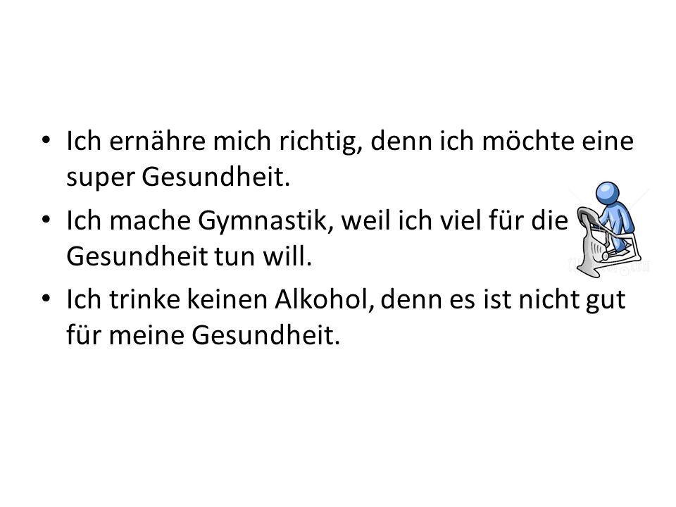 Freund: Ich trinke viel Alkohol.
