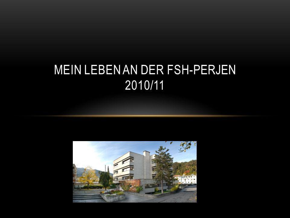 MEIN LEBEN AN DER FSH-PERJEN 2010/11